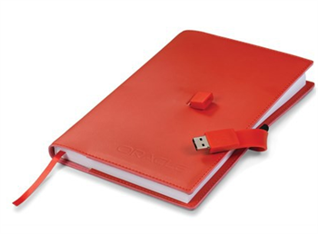 Note book with USB